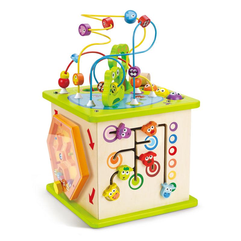 cube d 39 activit s e1810 hape toys. Black Bedroom Furniture Sets. Home Design Ideas